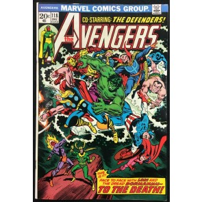 Avengers (1963) #118 NM- (9.2) Avengers Defenders War part 8 of 8