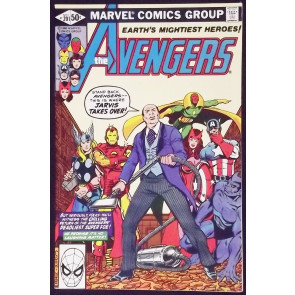 AVENGERS #201 VF/NM GEORGE PEREZ COVER AND ART JARVIS