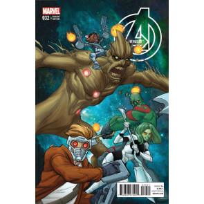 AVENGERS (2012) #32 VF/NM GOTG VARIANT COVER MARVEL NOW!