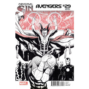 AVENGERS (2013) #29 VF/NM FRANK CHO VARIANT COVER ORIGINAL SIN TIE-IN