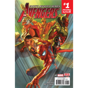 Avengers (2016) #1 2 3 4 5 6 Complete Kang War One Set VF/NM Mark Waid Alex Ross