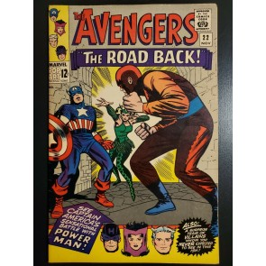 Avengers #22 (1968) VF- (7.5) Power Man Wood Inks |