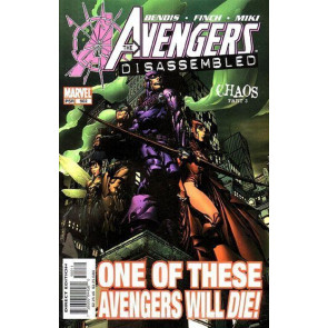 AVENGERS #502 NM DISASSEMBLED CHAOS PART 3 DEATH OF HAWKEYE