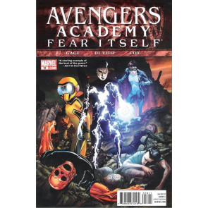 AVENGERS ACADEMY (2010) #18 VF/NM FEAR ITSELF TIE-IN