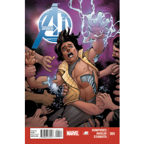 AVENGERS A.I. (2013) #4 VF/NM MARVEL NOW!