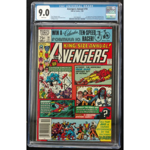 Avengers Annual (1967) #10 CGC 9.0 1st App Rogue & Madelyn Pryor (156368002)