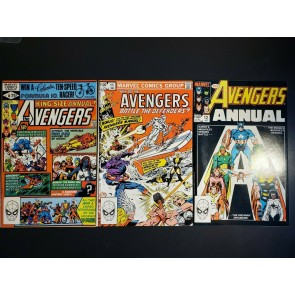 Avengers Annual #10, 11, 12 VF, VF, NM set 1st Appearance of Rogue Claremont |