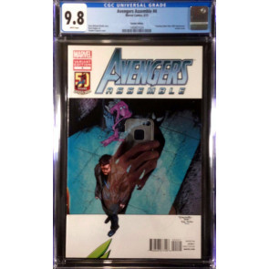 Avengers Assemble (2012) #4 CGC 9.8 Amazing Spider-Man 50th Variant (1400651024)