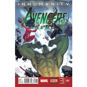 AVENGERS ASSEMBLE (2012) #22 FN/VF INHUMANITY TIE-IN MARVEL NOW!
