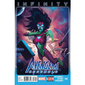 Avengers Assemble (2012) #18 VF/NM Spider-Woman