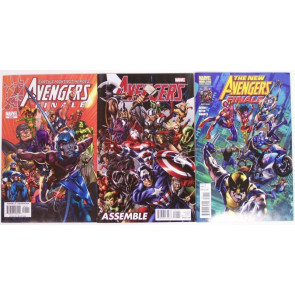 AVENGERS FINALE ASSEMBLE LOT OF 3 NEAL ADAMS NM