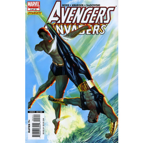 AVENGERS INVADERS (2008) #3 OF 12 VF/NM ALEX ROSS COVER
