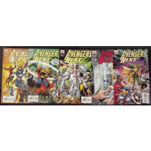 AVENGERS NEXT (2007) #'s 1, 2, 3, 4, 5 SET 1ST APP THENA THORS DAUGHTER & ULTRON