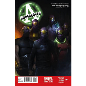 AVENGERS UNDERCOVER (2014) #4 VF/NM MARVEL NOW
