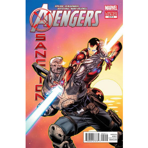 AVENGERS X-SANCTION (2012) #2 OF 4 VF/NM ED MCGUINNESS JEPH LOEB