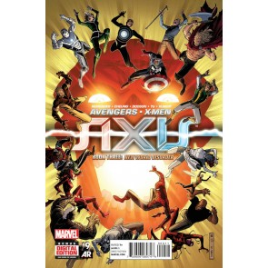 Avengers & X-Men: Axis (2014) #9 of 9 VF/NM Jim Cheung Cover
