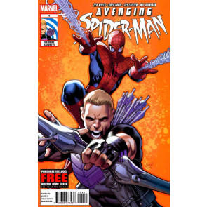 AVENGING SPIDER-MAN (2011) #4 VF- HAWKEYE