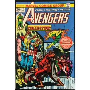 Avengers (1963) 119 NM (9.4) Rutland Vermont Halloween story 1st Collector cover