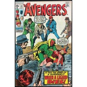 Avengers (1963) #81 VF+ (8.5)