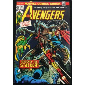 Avengers (1963) #124 NM (9.4) origin of Mantis