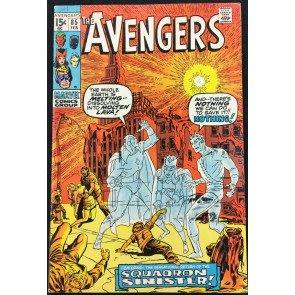 Avengers (1963) #85 VF- (7.5) 1st appearance Squadron Supreme