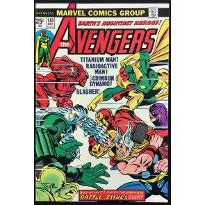 Avengers (1963) #130 NM- (9.2) vs Radioactive Man Crimson Dynamo & Titanium Man