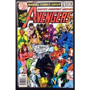 Avengers (1963) #181 FN/VF (7.0) 1st app Scott Lang the new Ant-Man Byrne Prerez
