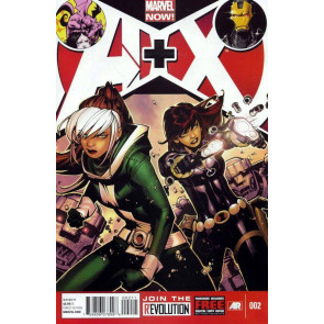 A+X #2 VF/NM MARVEL NOW! AVENGERS X-MEN