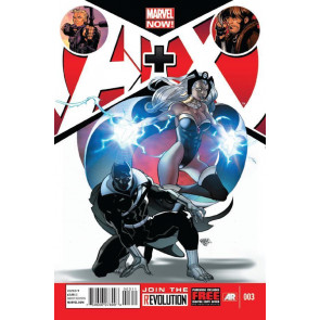 A+X #3 VF/NM MARVEL NOW! AVENGERS X-MEN