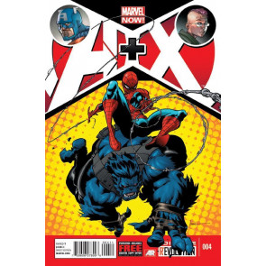 A+X #4 VF/NM MARVEL NOW! AVENGERS X-MEN