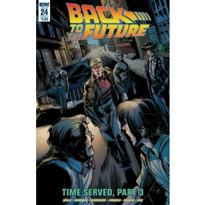Back to the Future (2016) #24 VF/NM Marcelo Ferreira Cover IDW