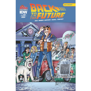 Back to the Future (2016) #3 VF/NM Archie Cover Month Variant Cover IDW