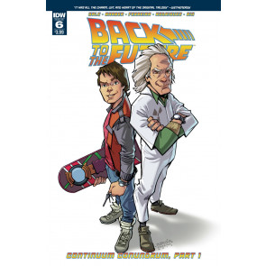 Back to the Future (2016) #6 VF/NM IDW
