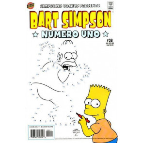 BART SIMPSON #38 VF+ - VF/NM BONGO COMICS