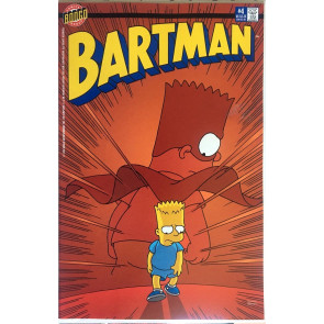 Bartman (1993) #4 VF+ (8.5) Amazing Spider-Man #50 cover swipe Simpsons Bongo