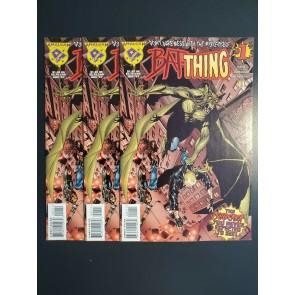 BAT-THING #1 1997 8.5-9.2 VF+-NM- LOT OF 3 MARVEL DC AMALGAM MAN-THING MAN BAT |