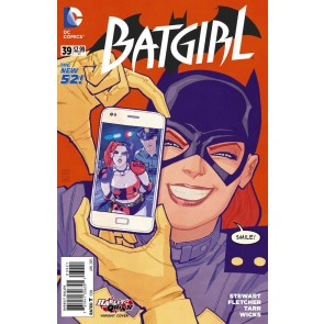 Batgirl (2011) #39 VF/NM-NM Harley Quinn Variant Cover The New 52!