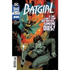 Batgirl (2016) #33 VF/NM-NM Emanuela Lupacchino Cover DC Universe