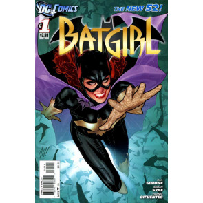 Batgirl (2011) #1 2 3 4 0 VF/NM Adam Hughes Cover 1st Print Movie The New 52!