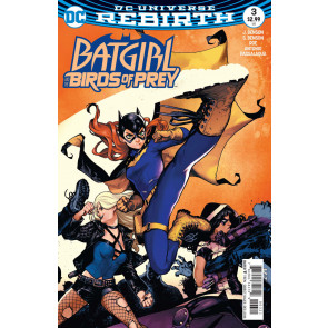 Batgirl and the Birds of Prey (2016) #3 Kamome Shirahama VF/NM DC Rebirth