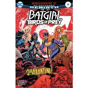 Batgirl and the Birds of Prey (2016) #'s 15 16 18 - 22 Paquette Dodson Covers