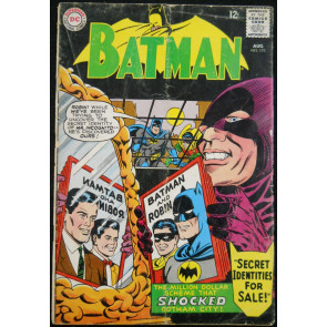 BATMAN #173 GD/VG