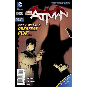 BATMAN #19 VF+ - VF/NM DIGITAL COPY SEALED VARIANT COVER THE NEW 52!