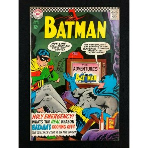 Batman (1940) #183 VG/FN (5.0) 2nd Appearance Poison Ivy