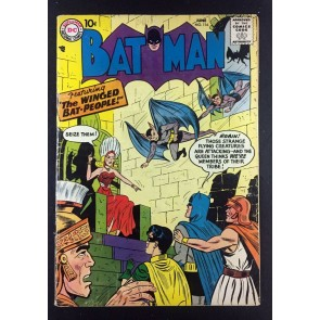 Batman (1940) #116 VG (4.0) vs The Winged Bat-People