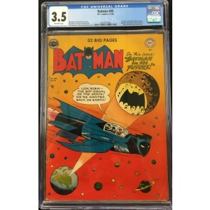 Batman (1940) #59 CGC 3.5 off-white pages 1st app Deadshot (2023537004)