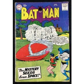 Batman (1940) #124 GD/VG (3.0) with Robin