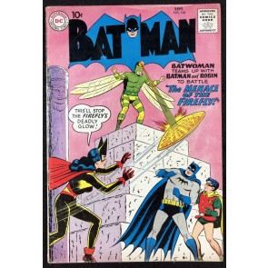 Batman (1940) #126 VG+ (4.5) with Robin Batwoman cover