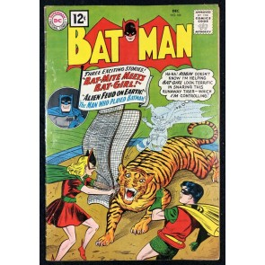 Batman (1940) #144 VG (4.0) and Robin Batgirl cover