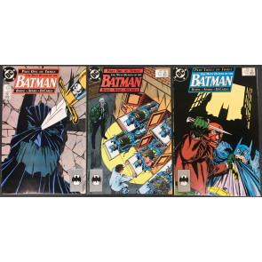 Batman (1940) 433 434 435 complete Many Death of Batman story line